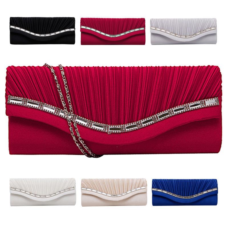 Модные женские Стразы, вечерние сумочки, клатч, Свадебный Кошелек