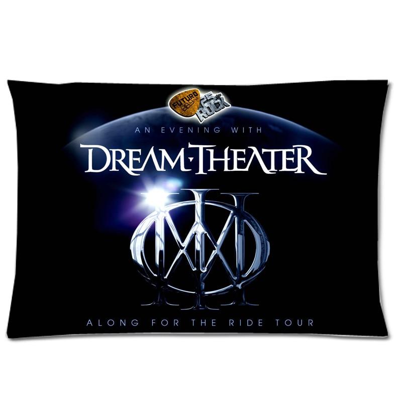 Dream Theater funda de almohada decorativa de dos lados funda de almohada de poliéster funda de almohada rectangular de 20x30 pulgadas
