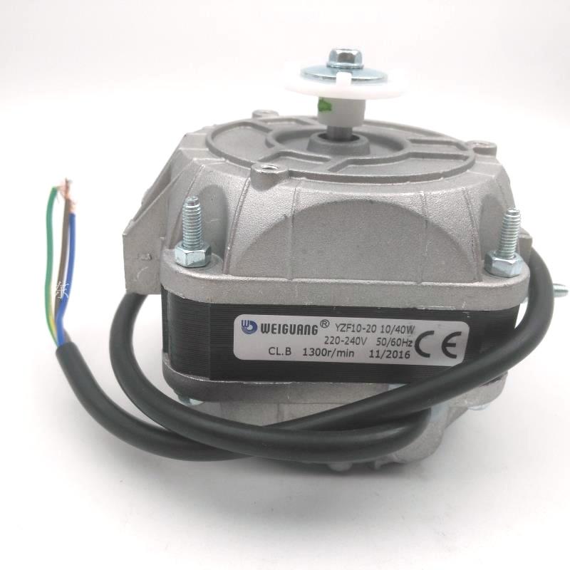 YZF 10-20/40 واط/الفريزر مروحة microlight هود القطب موتور ثلاجة تبريد المحرك Weiguang