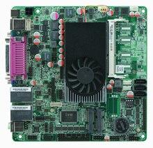 Placa base industrial 1037U 2 * VGA/LVDS 2 * Gigabit ITX con 10COM