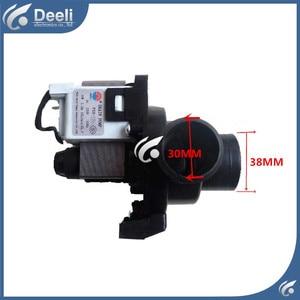 used Washing machine drain pump PX-2-35 XQG50-146 XQG50-156/166/356/456 35W drain pump motor good workin