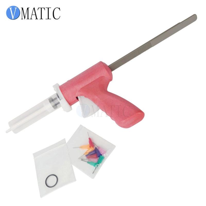 Free Shipping Syringe 10ml 10cc Manual Caulking Gun