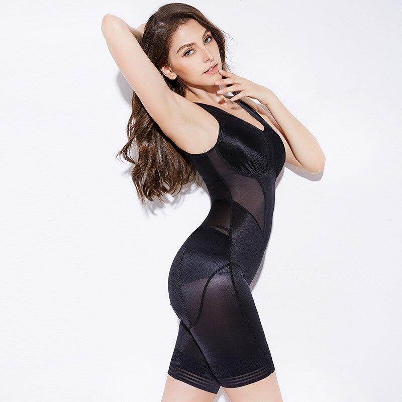 ZYSK النساء مثير الملابس الداخلية التخسيس الملابس الداخلية 100% جودة عالية الخصر المدرب الجسم المشكل بعد الولادة داخلية زائد الحجم 3xl الأسود