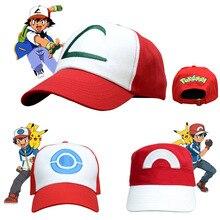 Аниме Pokemon Go, аксессуары для костюма, головные уборы, бейсболка Pokemon Monster