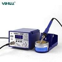 YIHUA 939D+ Soldering Stations high power thermostat Smart soldering station 75W Adjustable Temperature 110V 220V Rework station