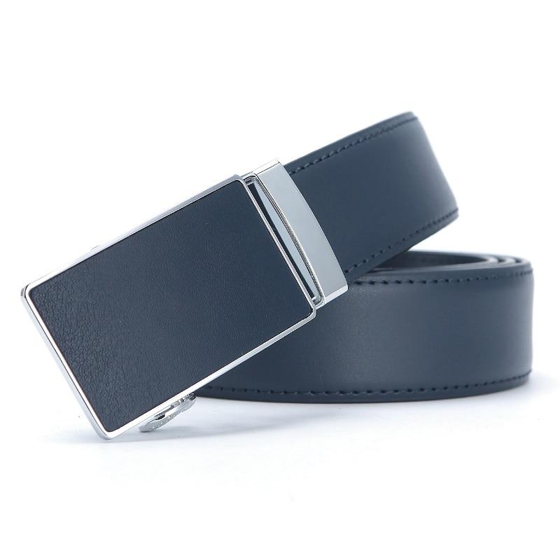 Mens Leather Ratchet Automatic Buckle Leather Belt for Men Genuine Leather Dress Belt Holeless Automatic Sliding Buckle Belts 2017new pgm golf belts men s genuine leather ratchet dress belt with alloy automatic buckle