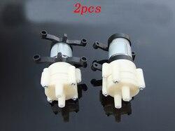2 peças r385 bomba de circulação dc 6 v-12 v diafragma água s 90*45*35mm 1.5-2l/min pulverizador do motor para o modelo elétrico diy