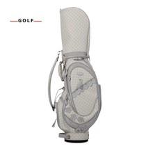 CRESTGOLF nouveau NSR femmes sac de golf club ensembles avec demi-cuir et nylon sac de golf ensemble sport golf club pratique ensembles dentraînement