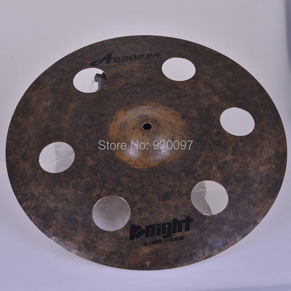"New style Arborea cymbal, Raw 16""O-ZONE  cymbal"