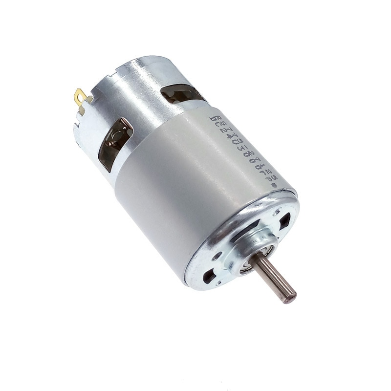DC 12V Motor 775 24V double Ball Bearing 3000rpm4500rpm6000rpm8500rpm10000rpm RS775 Large Torque Low