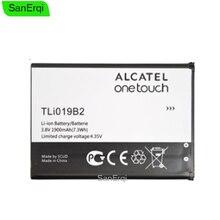 Tli019b2 알카텔 원터치 팝 c7 용 배터리 OT-7041 7041d 새로운 교체 용 듀얼 cab1900003c2 1900 mah