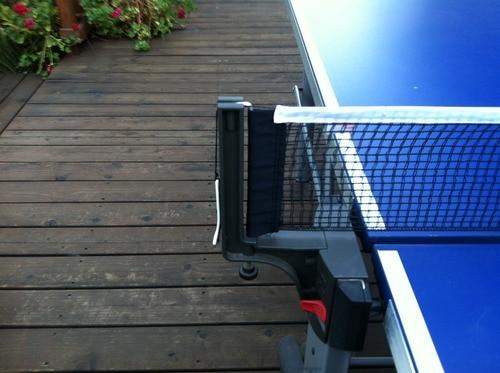 Buena oferta nuevo poliéster algodón Tenis de Mesa Ping Pong reemplazo red estándar Ping Pong