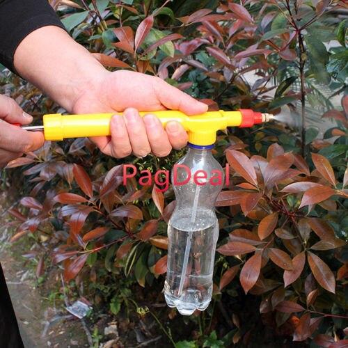 Atomizador en Spray Pump, botella de acción, junta para pulverizador líquido de agua superior, boquilla de tornillo, rociador para flores de jardín