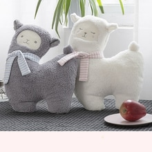 43m Japanese Alpacasso Plush Toys Stuffed Lying Alpaca Doll Soft Animal Toys Cushion Kawaii Gift for Kids Cute Pillow Gift Toy