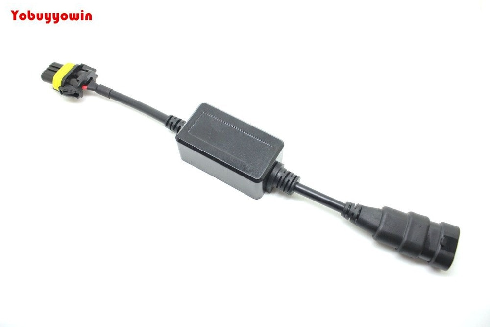 Автомобильный 9005/9006 КРИ чипы светодиодный светильник лампы преобразования туман светильник нагрузки резистор декодер провода