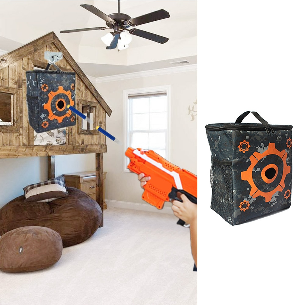 Target Pouch Storage Carry Equipment Bag Refill Clip Darts Bullets Bag Case for Nerf N-strike Toy Gun Elite Mega Rival Series