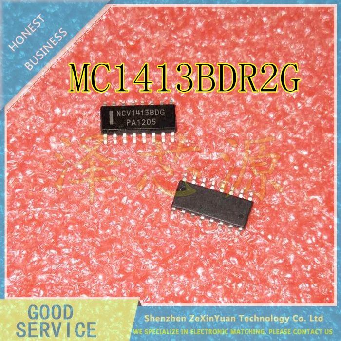 20 unids/lote MC1413BDR2G MC1413BDG MC1413BD MC1413B MC1413 SOP-16 de alta corriente de alto voltaje transistor Darlington ARRAYS