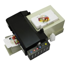Epson l800 잉크젯 pvc 프린터 용 dvd cd 인쇄용 epson dvd 프린터 용 51 pcs cd/pvc 트레이가있는 비디오 카드 인쇄용