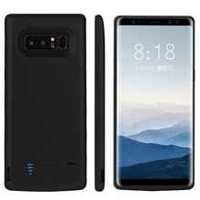 Chargeur de batterie 6500/5000mAh pour Samsung Galaxy Note 8 9 couverture dalimentation de téléphone de charge pour Samsung Note 8 Note 9 étui de batterie