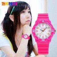 SKMEI אופנה מזדמן ילדים שעונים 5bar עמיד למים קוורץ שעוני יד ג 'לי ילדים שעון ילדי שעון montre enfant 1043