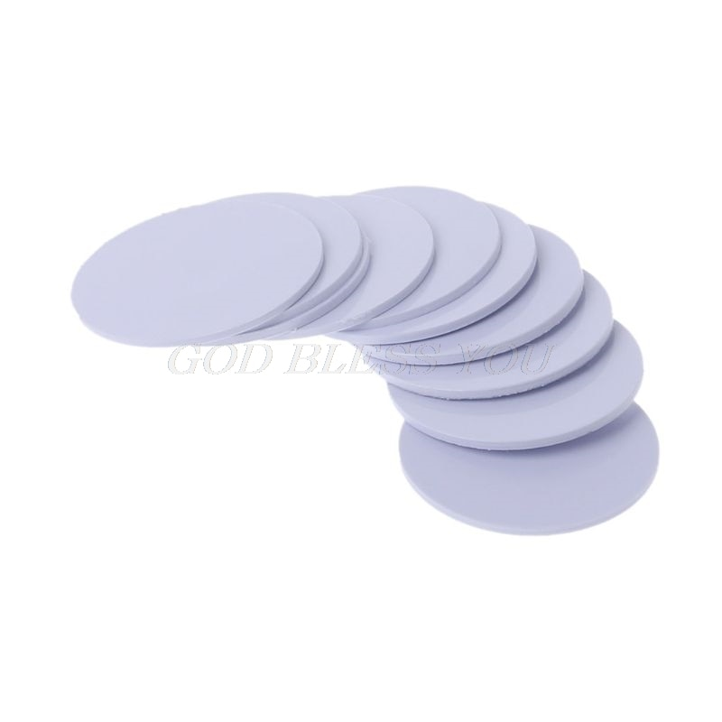 10Pcs Ntag215 NFC Tags Sticker Phone Available No Adhesive Labels RFID Tag 25mm Drop Shipping