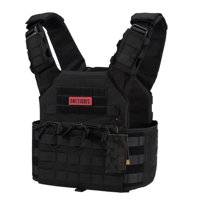 Тактический жилет OneTigris CS, армейский жилет из нейлона 500D, для охоты