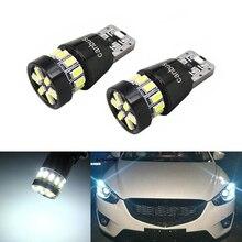 DOTAATDW-feuillets lumineux à semelle compensée   2x T10 W5W, ampoules pour Mazda 323 626 3 6 8 Atenza cx7, mx5 cx3 rx8 cx5