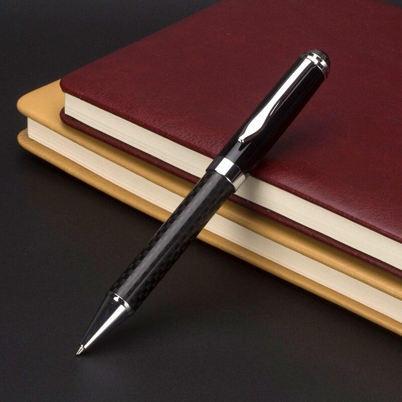 Металлическая коробка роликовая шариковая ручка Роскошная Шариковая ручка для бизнес письма подарок офисные школьные принадлежности черн...