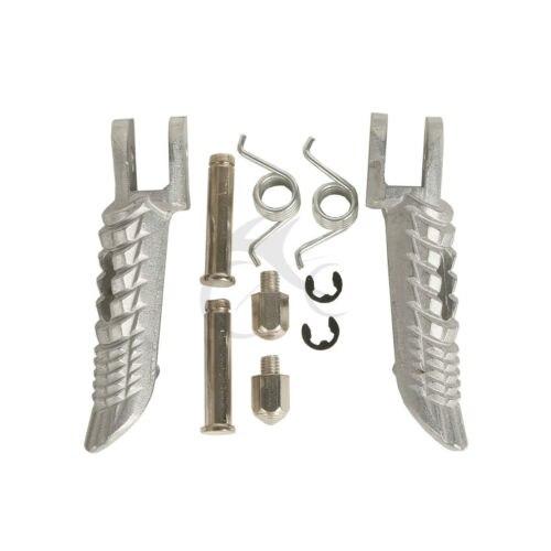 Pedales de reposapiés delanteros para Suzuki GSXR600 GSXR 750 01-14 GSXR1000 01-14
