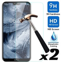 2pcs/lot Tempered Glass Screen Protector Explosion-proof Anti Scratch Front Guard Films For Microsof