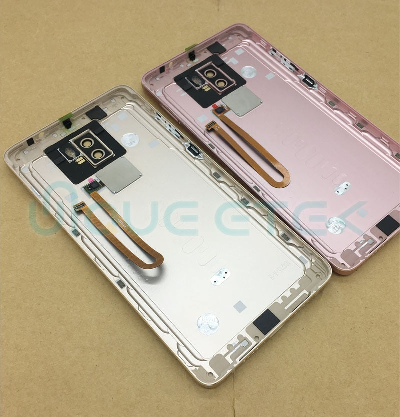 New Original For Xiaomi 5s Plus Battery Cover Back Housing Door Case + Power Volume Buttons+fingerprint