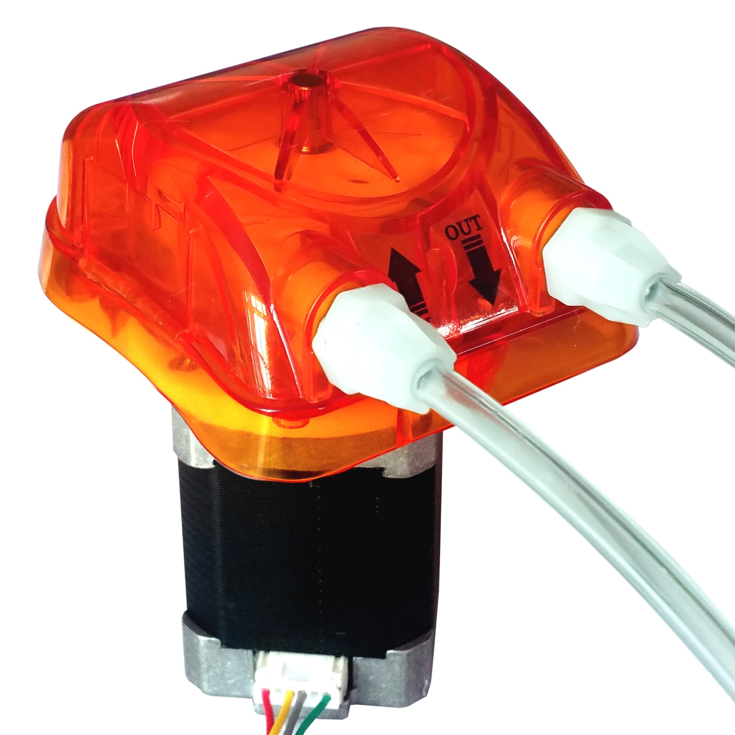 1 ml/min, 4 Rolos, 24 V Pisar Bomba Peristáltica Honlite com Exchangeable Cabeça Da Bomba e BPT PharMed Tubo Peristáltico