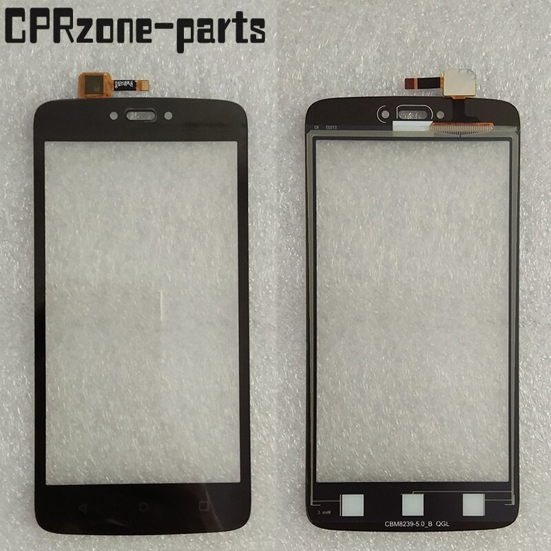 "5,0 ""Nuevo 100% probado para Motorola Moto C XT1750 XT1755 XT1754 XT1758 pantalla táctil digitalizador cristal sensor Panel envío gratis"