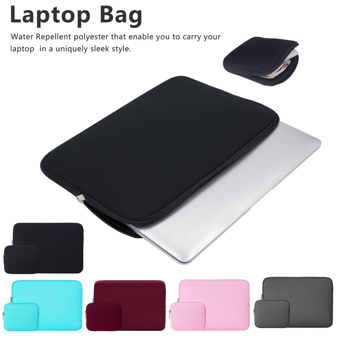 Portable Laptop Sleeve Case Cover Computer Liner Bag for Macbook Tablet Notebook Waterproof Wear-resisting 11,13,14,15,15.6 Inch
