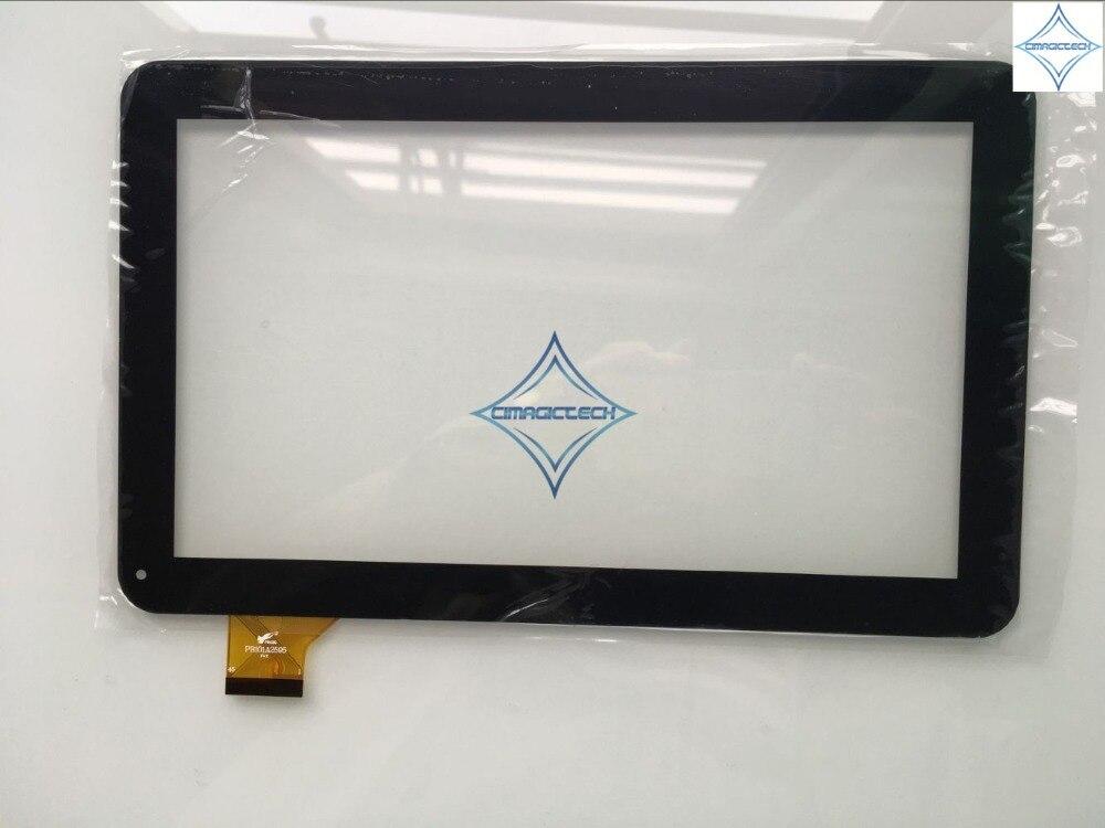 Nueva tableta de 10,1 pulgadas Digitalizador de pantalla táctil lente de panel de vidrio capacitivo PB101A2595