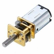 12mm Diameter Mini Metal Gear Motor DC 12V 100RPM with Gearwheel N20 3mm Shaft Diameter For Making Robots