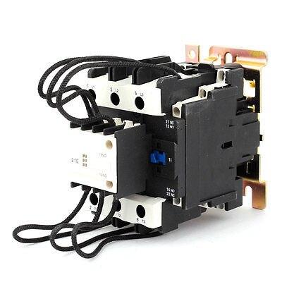 220 V 50/60Hz Bobina de Controle Do Motor 3 Fase de Transição Capacitor Contator 2NO + 1NF