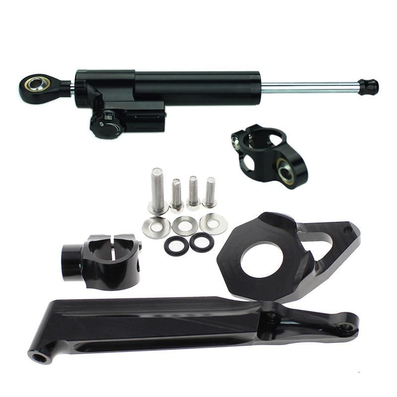 Für Honda CBR600RR CBR 600 RR CBR 600RR 2005-2006 Motorrad Lenkung Dämpfer Stabilisator Linear Umge Sicherheit Control + halterung