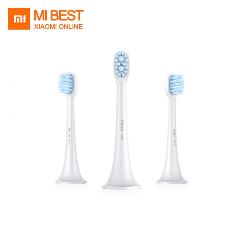 electric sonic toothbrush heads Original Xiaomi Mijia Sonic Electric Toothbrush Heads 3PCS Smart Toothbrush head Mini And Clean Sonic Electric Toothbrush