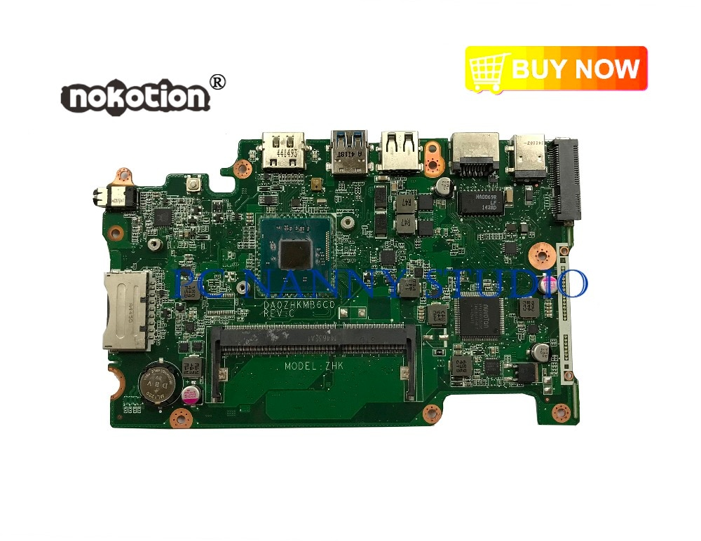 PCNANNY NBMRK11001 DA0ZHKMB6C0 لشركة أيسر أسباير ES1-111M ES3-112 اللوحة المحمول N2840 اختبار