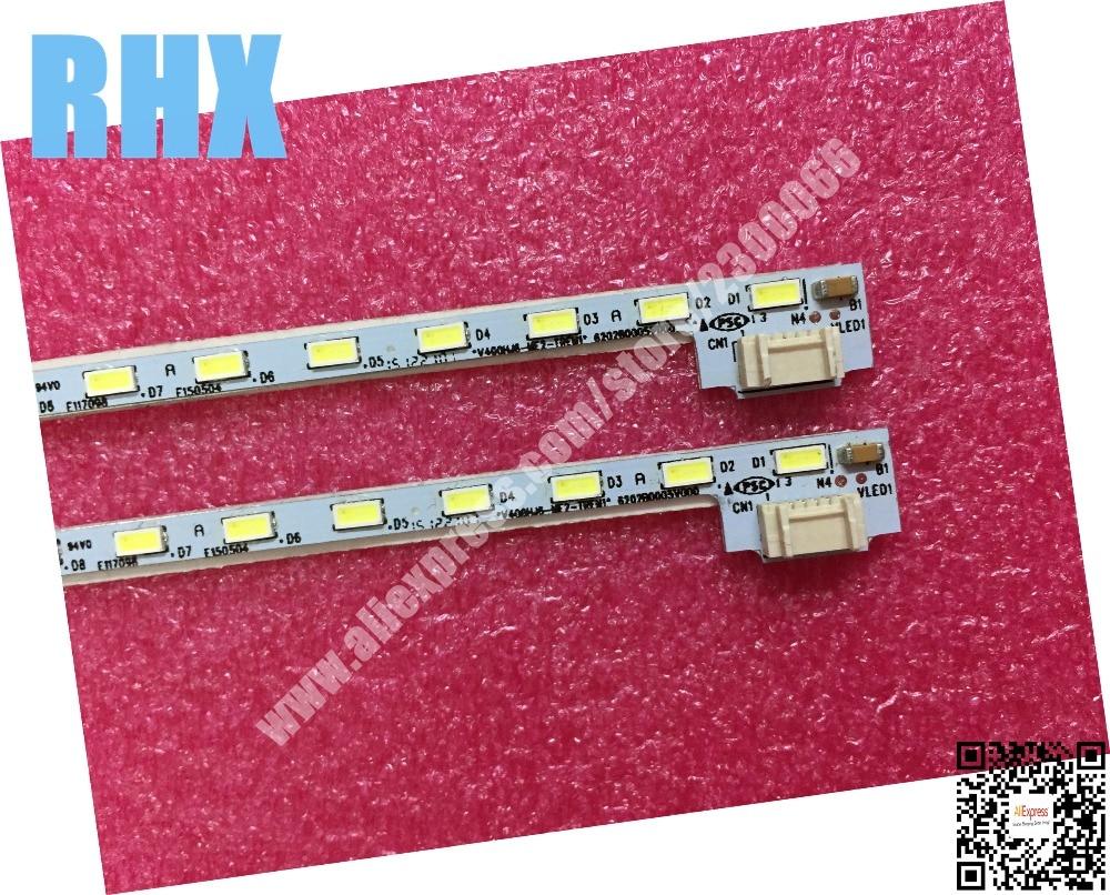 Для ремонта new100% Sharp LCD-40V3A ЖК-телевизор со светодиодной подсветкой, лампа, V400HJ6-ME2-TREM1, 1 шт. = 52LED 490 мм