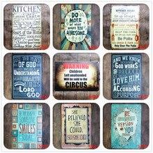 Кухонные правила, металлические ретро-знаки, доска, бар, бар, клуб, настенная Таверна, домашний художественный постер для семьи и жизненных правил, декоративная пластина N083
