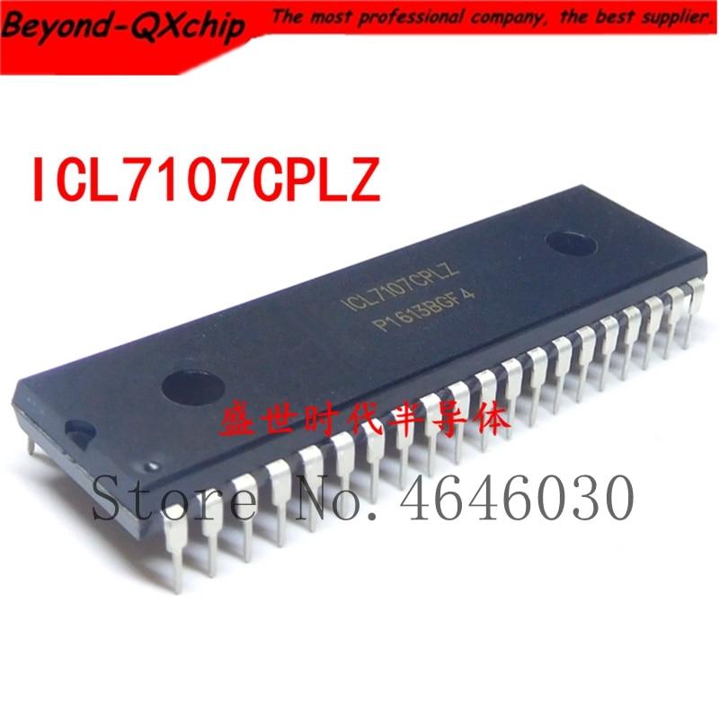 Frete Grátis! 50 pçs/lote ICL7107CPLZ ICL7107 DIP40 7107 ADC 3.5DIGIT LCD/LED IC Melhor qualidade.