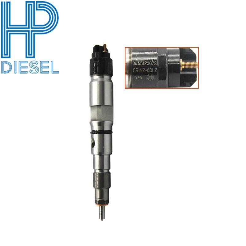 Buen Precio y alta calidad, piezas de motor diesel rial común, boquilla de inyector de combustible 0445120078 DLLA150P1622