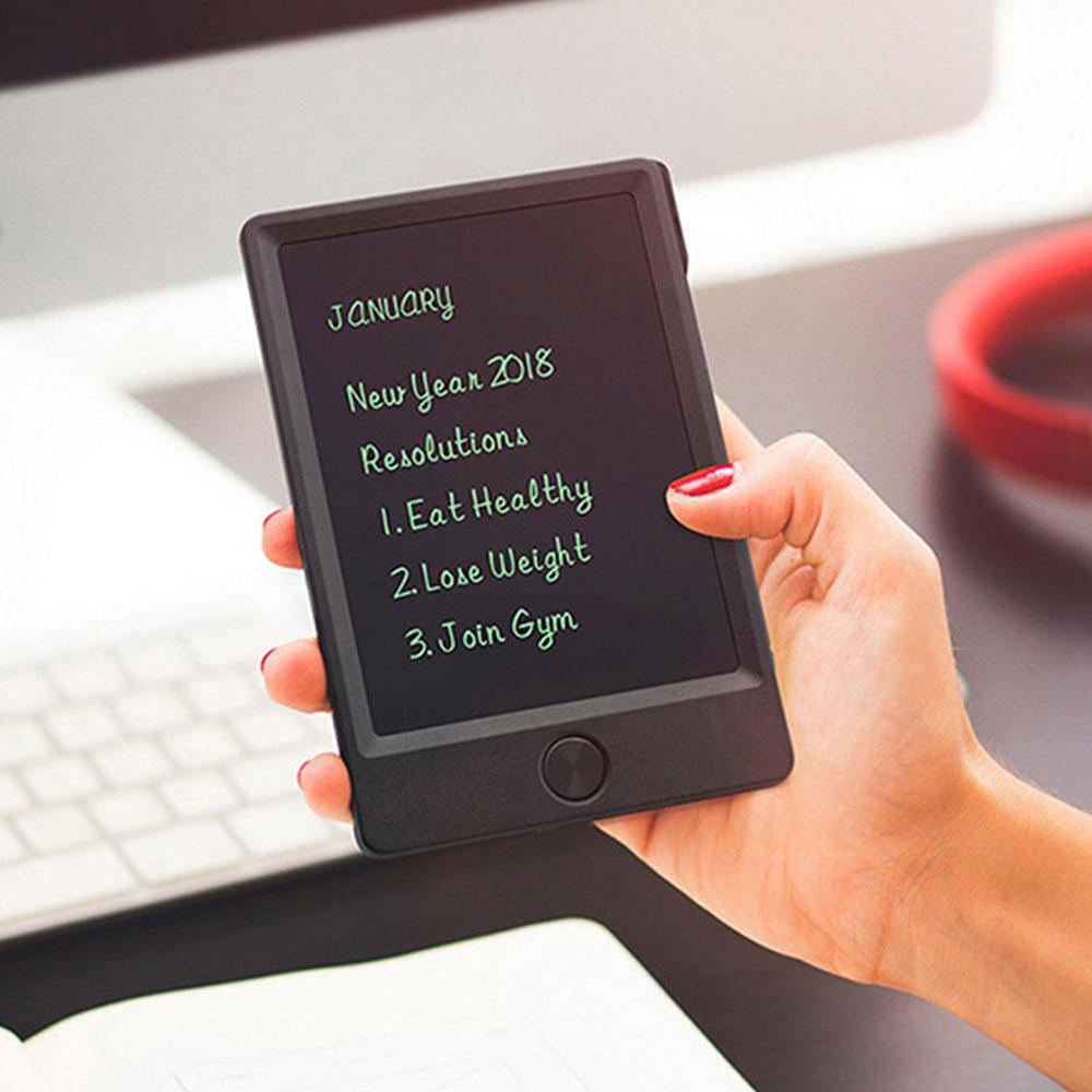 Tableta de dibujo LCD de 5 pulgadas, tableta de escritura, Mini tableta Digital gráfica electrónica, tablero de escritura y dibujo, Bloc de notas