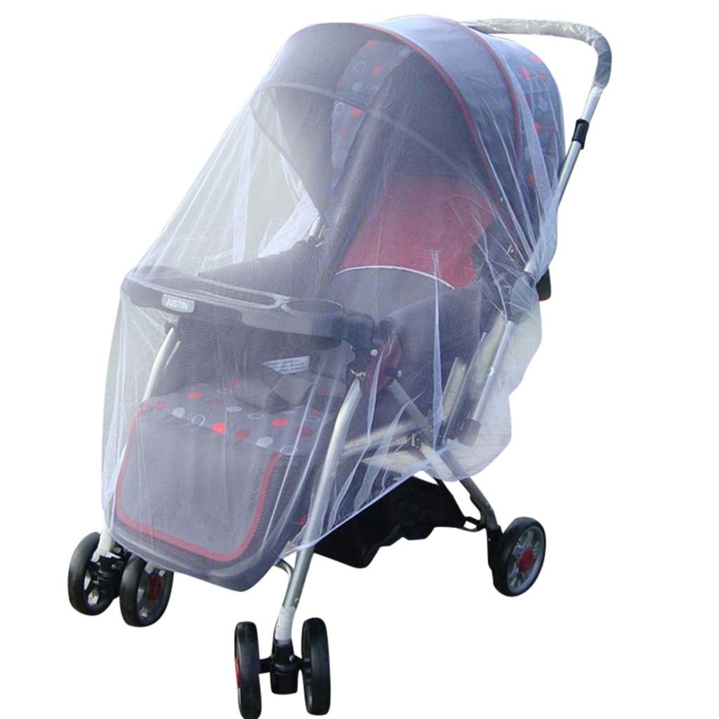 Chamsgend capa para carrinho de bebê, carrinho de criança mosquito mosquito inseto malha carrinho de bebê infantil p30