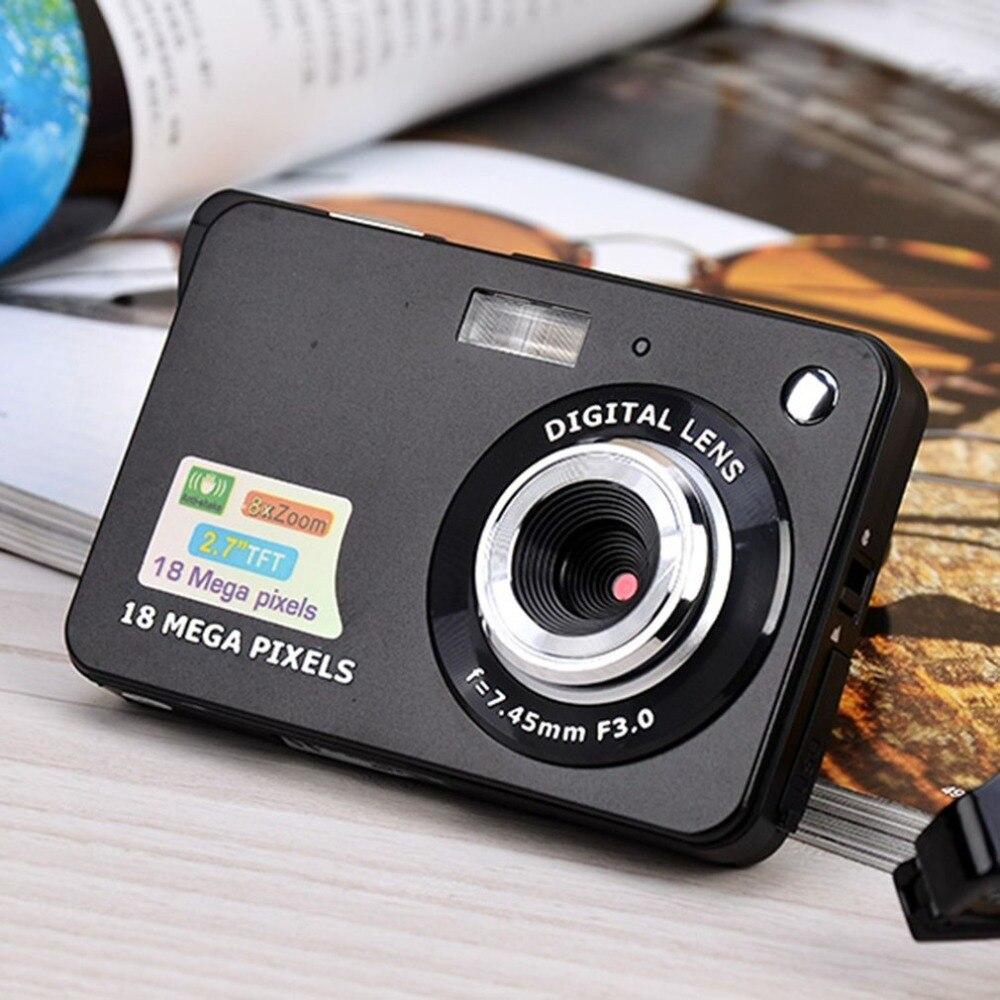 Cámara Digital HD pantalla TFT LCD, cámara de vídeo 18MP 720P 8x Zoom, videocámara Anti-vibración CMOS 2,7 pulgadas, Micro cámara de vídeo, triangulación de envíos