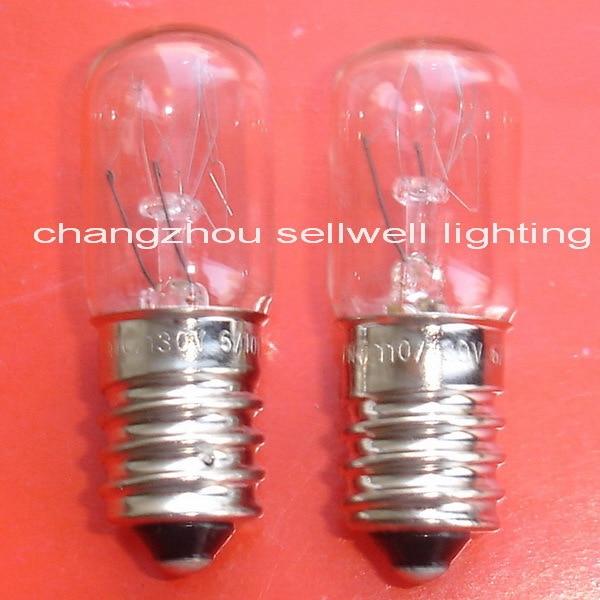 ¡Nuevo! Lámpara en miniatura bombillas 110/130v 6/10w E14 T16x45 A719