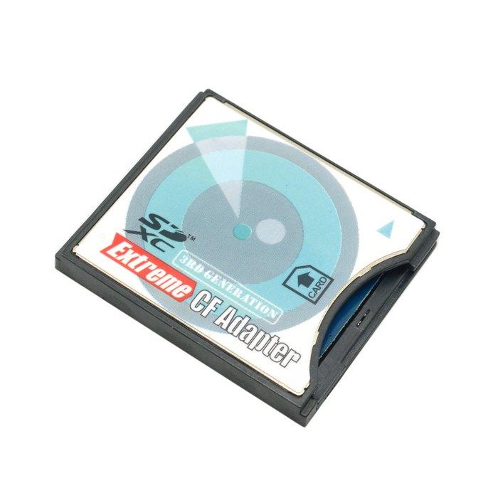 ChenyangCY Cámara SD SDHC SDXC a alta velocidad extrema Flash compacto CF tipo Adaptador de Tarjeta de Memoria