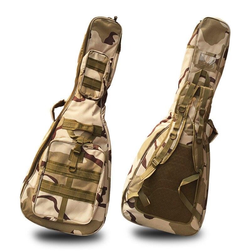 40/41 Inch Guitar Bag 10mm Thick Sponge Soft Case Gig Bag Backpack Oxford Waterproof Guitar Cover Case with Shoulder Straps